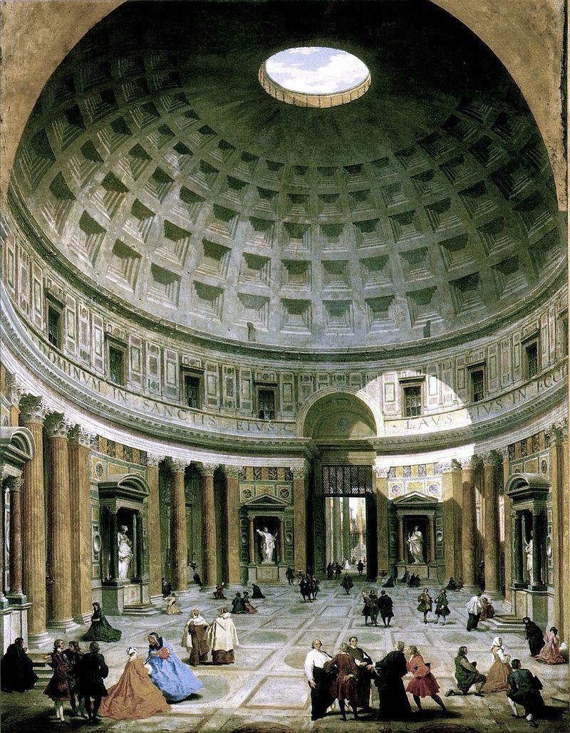 800px-Pantheon-panini